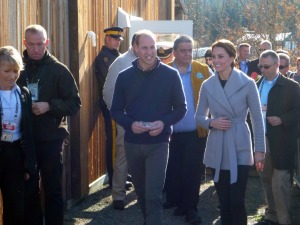 HRH Katherine, The Duchess of Cambridge with Prince William in Carcross, Yukon, Canada
