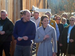 HRH Katherine, The Duchess of Cambridge with Prince William in Carcross, Yukon, Canada. Photo by Leslie Leong